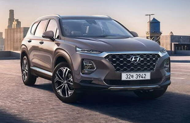 Новый Hyundai Santa Fe: полный привод HTRAC и 8-ступенчатый автомат