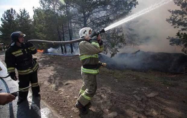Аномальная жара осложнила ситуацию с природными пожарами в Сибири