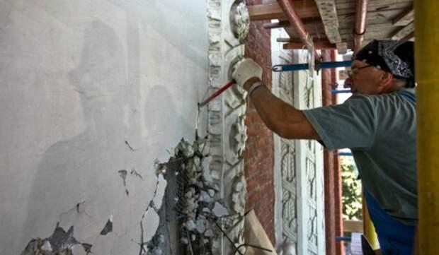 Началась комплексная реставрация деревянного сруба особняка купца Масягина