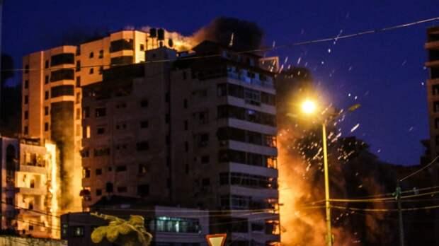 Минздрав Палестины сообщил о гибели 126 человек после авиаударов Израиля