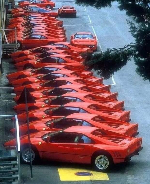 Завод Феррари, 1984 год