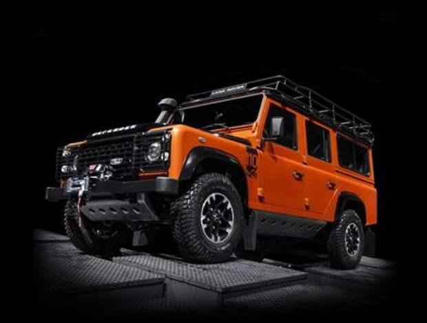 Эпидемия угонов Land Rover Defender продолжается