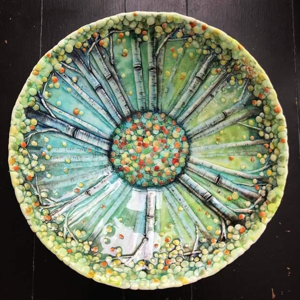 Удивительная керамика Heesoo Lee   Каждую вещь хочется рассматривать долго-долго