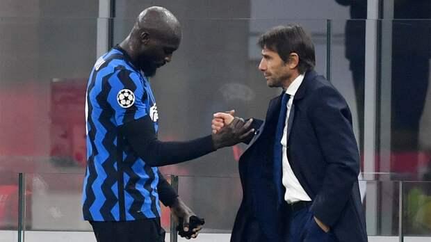 «Ты изменил меня как футболиста, сделав сильнее. Спасибо тебе за все». Лукаку попрощался с Конте