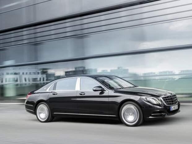 Дух «Майбаха» возродился в седане Mercedes-Maybach S-класса