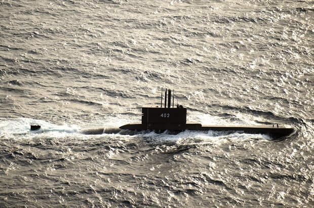Пропавшая подлодка ВМС Индонезии затонула у берегов Бали