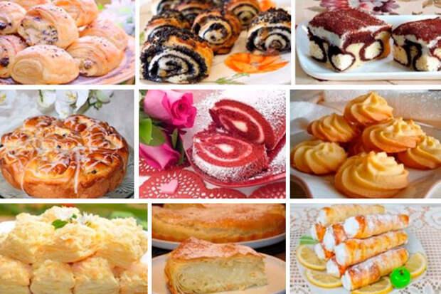 9 рецептов вкуснейшей выпечки