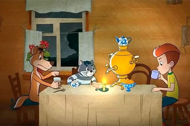 Герои мультфильма «Простоквашино» в новой серии отпразднуют Масленицу