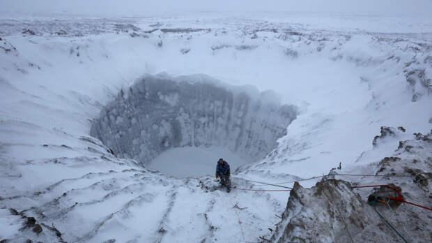 Почему возникают загадочные сибирские кратеры