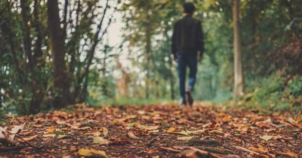 Мужчина, осень