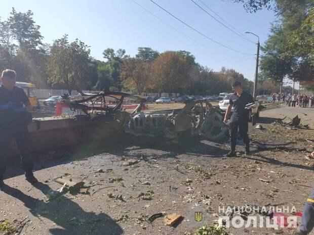 Взрыв в центре Днепропетровска: Ликвидирован сапёр-каратель