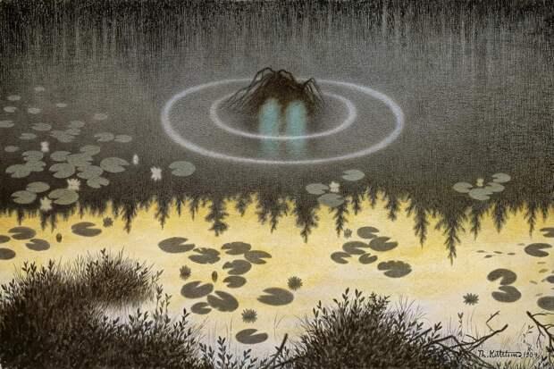 История Теодора Киттельсена, самого загадочного и мрачного художника Норвегии