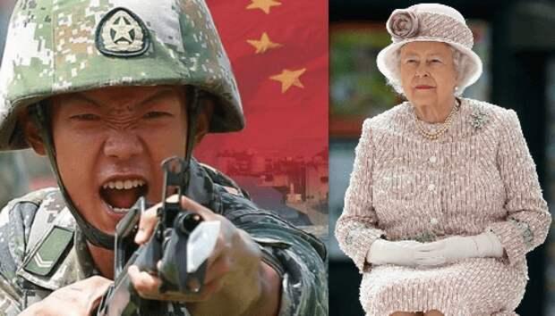 Похоже Китай скоро выдвинет территориальные претензии еще и к Великобритании