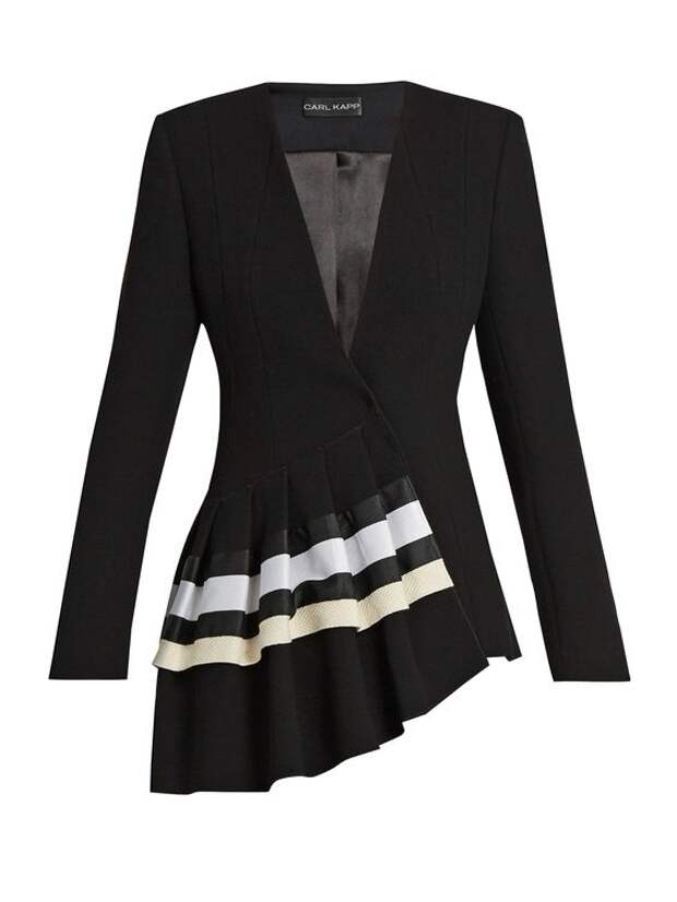 женский пиджак необычный