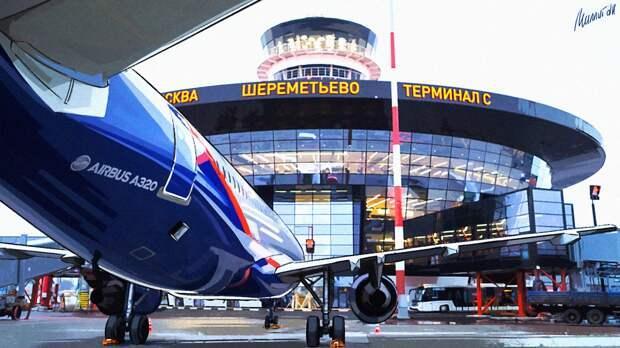 Сотрудники «Аэрофлота» устроили в Шереметьево  флешмоб ко Дню Победы