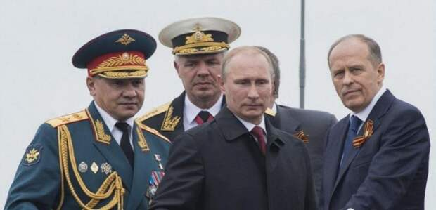 Контрпереворот в России. Силовая элита берёт власть