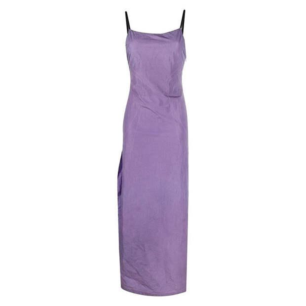 8 платьев с разрезом от бедра