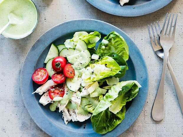 салат с курицей рецепт