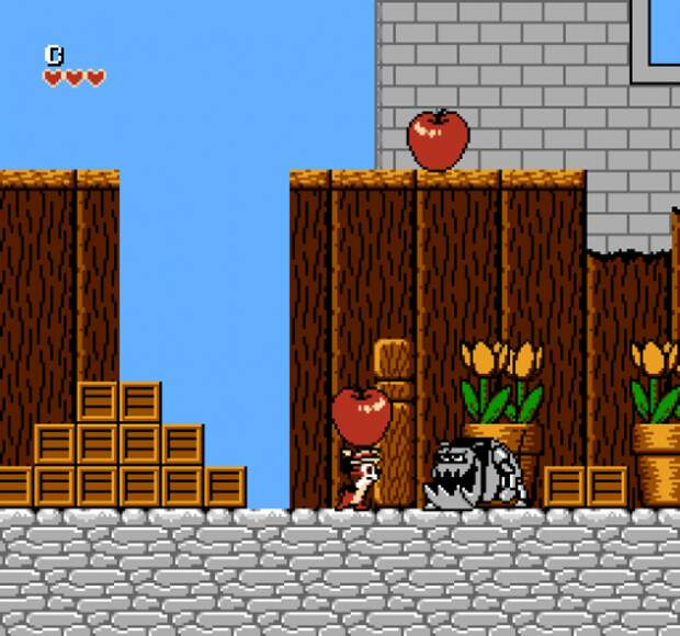 Chip and Dale: Rescue Rangers. 90-е годы, Денди 8 бит, любимые игры