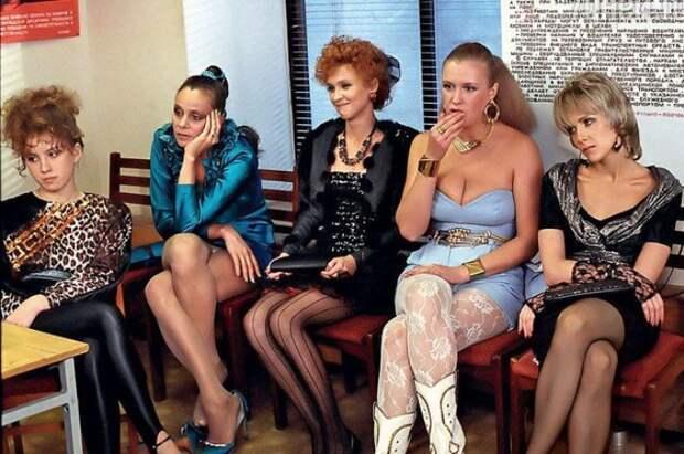 Кадр из фильма «Интердевочка». /Фото: ria.ru