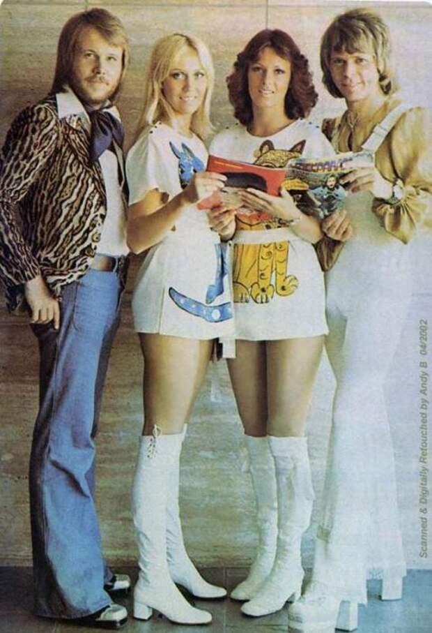 Солистка группы ABBA Анни-Фрид Лингстад родилась в программе «Lebensborn».   Фото: messynessychic.com.