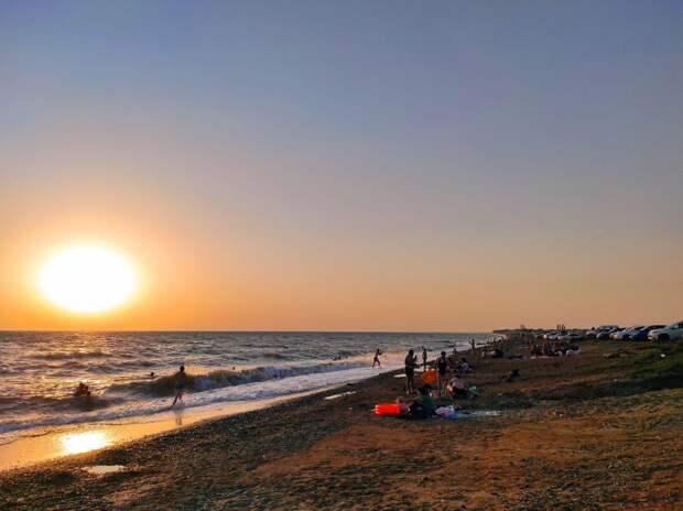 Западный берег Крыма: Как добраться до пляжа на машине, карта