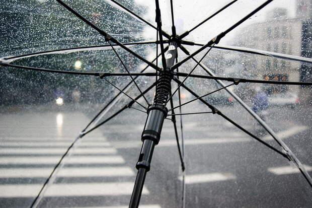 В Москве в воскресенье начнется 4-дневный дождь