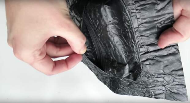 Нетривиальное использование мусорных мешков