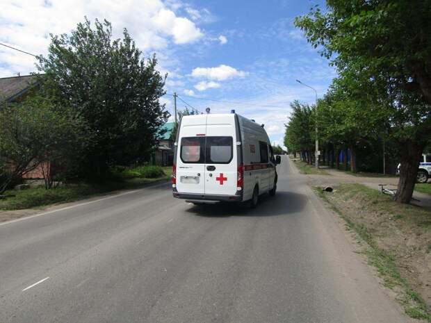 В Ижевске 11-летнего велосипедиста во время тренировки сбила машина