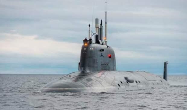 Атомная подводная лодка «Казань» принята всостав ВМФ