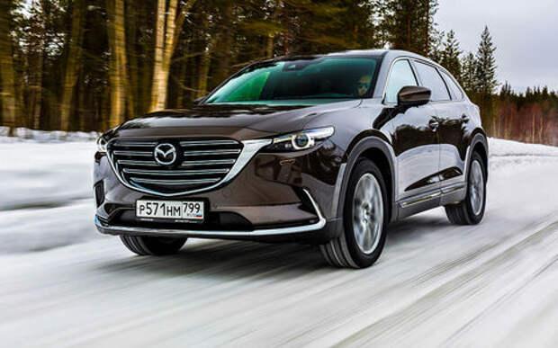 Большой кроссовер Mazda: все обновления и цены