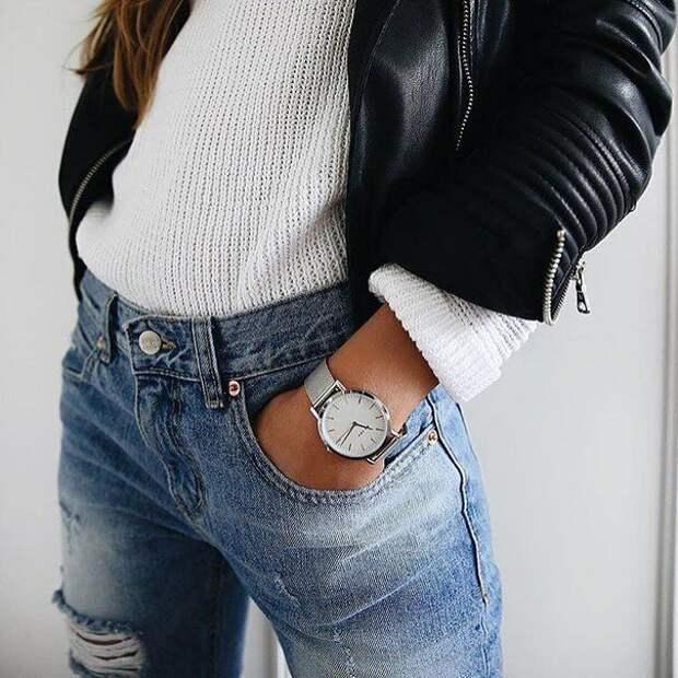 9 основных ошибок, которые многие допускают при носке джинсов с высокой посадкой