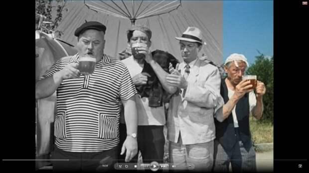 А вы знали, кто сыграл роль этого мужика с пивом? А мужик-то ведь был очень непростой!