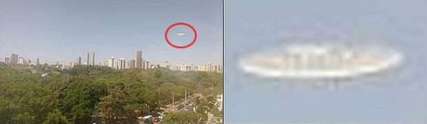 Два похожих НЛО сфотографировали над Бразилией и Сент-Люсией
