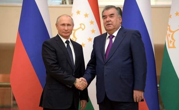 Путин обсудил сРахмоном интеграцию иАфганистан
