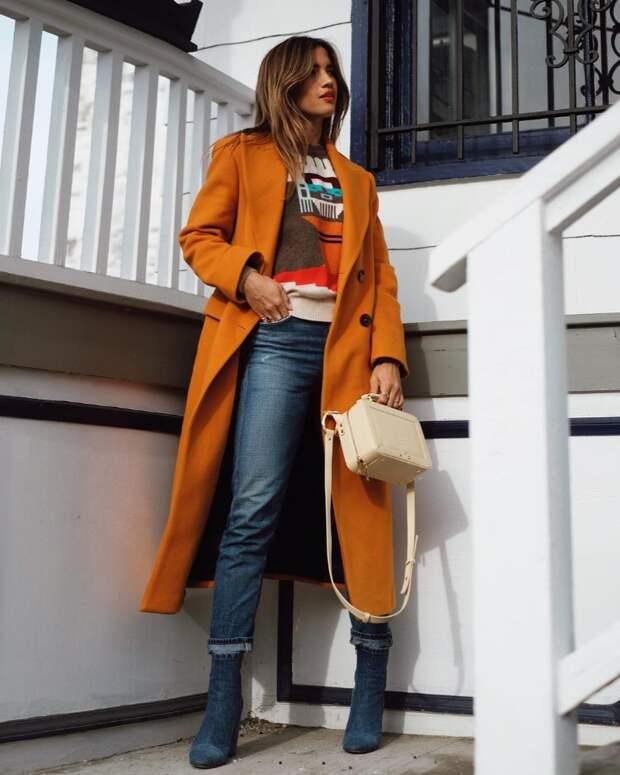 Оранжевая осень: Стильные образы для тех, кому не хватает тепла и цвета