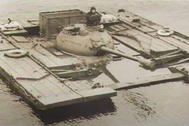 Летящие по волнам: как проходили испытания танков на подводных крыльях