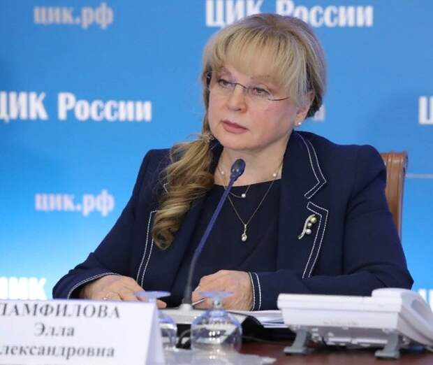"""Памфилова предложила членам петербургского избиркома """"честно и ответственно"""" уволиться"""