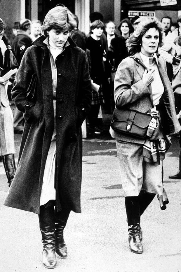 Принцесса Диана и Камилла Паркер-Боулз, 1980