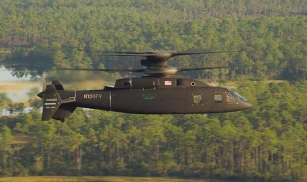 Вертолет SB1 Defiant разогнался до 390 км в час