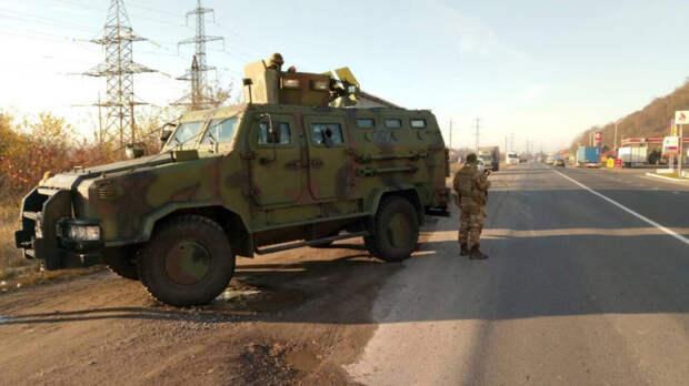 Украинский пограничник иронично ответил на вопрос о напряженности с Россией
