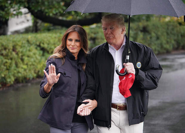 Дональд и Мелания Трамп больше не живут вместе