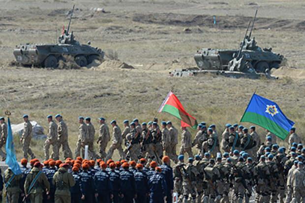 В ОДКБ заявили о готовности направить миротворцев на Украину