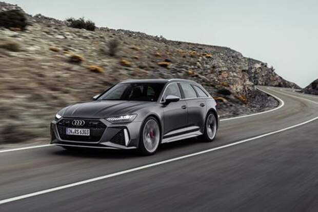 Audi сделала 600-сильный универсал A6 с фарами от A7