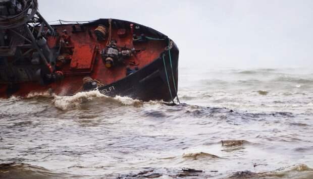 Украина присудила себе танкер британской компании