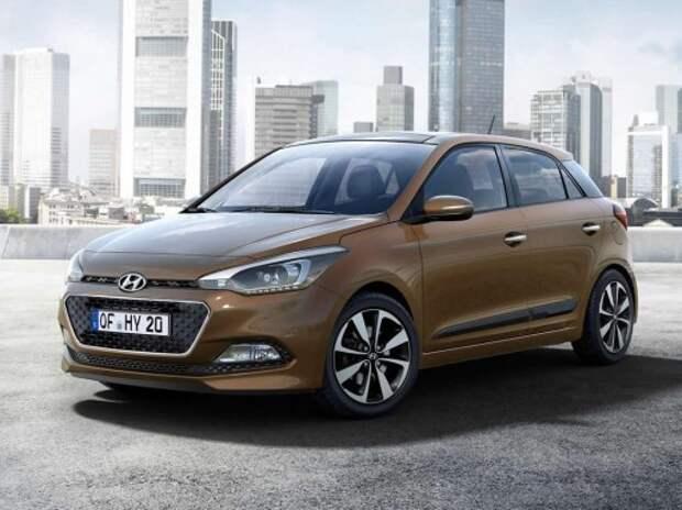 Новый Hyundai i20 получил самые большие в классе салон и багажник