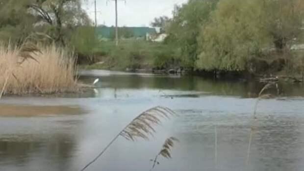 Нечистоты и отходы от переработки пластика сбрасывает в реку, вся грязь течёт в Донбасс