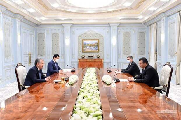 Глава Узбекистана ипремьер Таджикистана обсудили совместные проекты