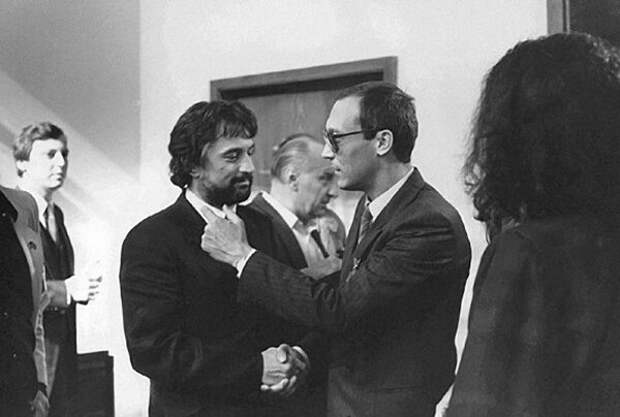 Фотография с «Московского международного кинофестиваля» (1987 год)