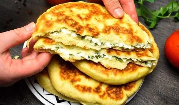 Готовлю хачапури по этому рецепту: без дрожжей и на сковороде (быстро и вкусно)